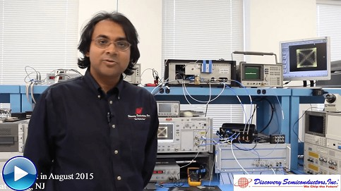 Discovery Semiconductors - 100G400G Coherent Receiver Lab Buddy Live Demo