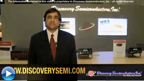 Discovery Semiconductors - Introduces 25Gbaud 850nm Optical Receivers at OFCNFOEC 2011